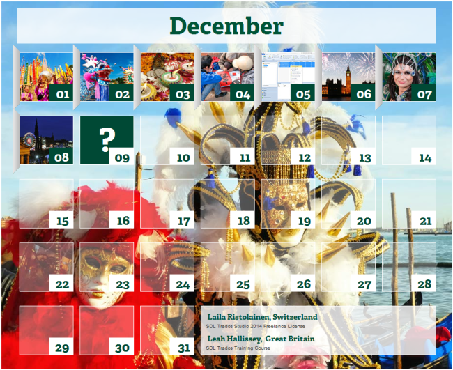 Calendar of Global Celebrations