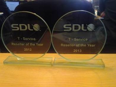 Компания Т-Сервис – «Реселлер 2013 года»
